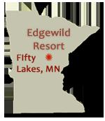 Edgewild Resort - FIfty Lakes, MN